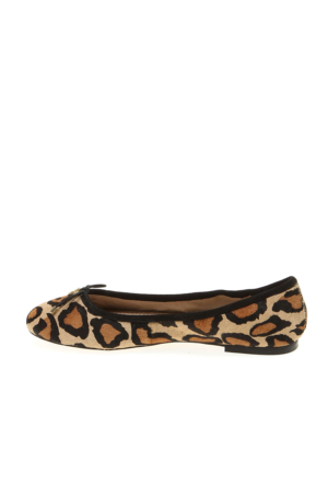 Sam Edelman New Nude LeopardBrahma A4085La915 Felicia Kadın Ayakkabı Leopar