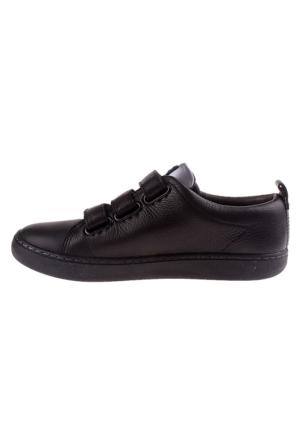 Camper 001 Black K800001-001 Domus Kids Erkek Çocuk Ayakkabı Siyah