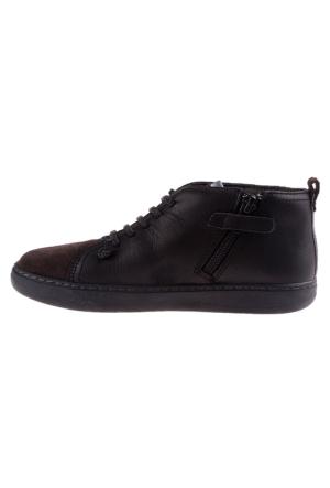 Camper 002 Black K900009-002 Domus Kids Erkek Çocuk Ayakkabı Siyah