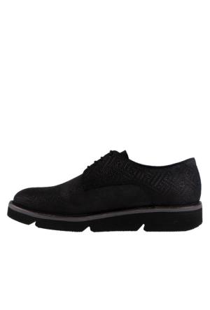 John May Navy Dante Bask. Sa-6446-760 Erkek Ayakkabı Siyah