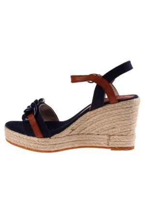 Guess Fl5Vet Fab04 Veta/Zeppa Kadın Sandalet Lacivert