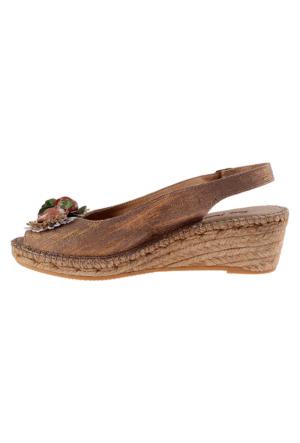 Toni Pons Tabacco Ruana Kadın Sandalet Kahverengi