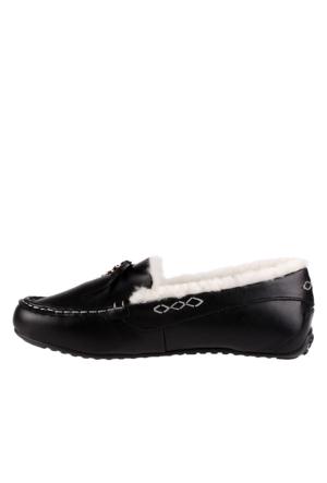 Pegia Vizon 156504 Kadın Ayakkabı Siyah