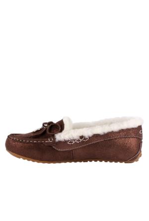 Pegia Vizon 156504 Kadın Ayakkabı Vizon