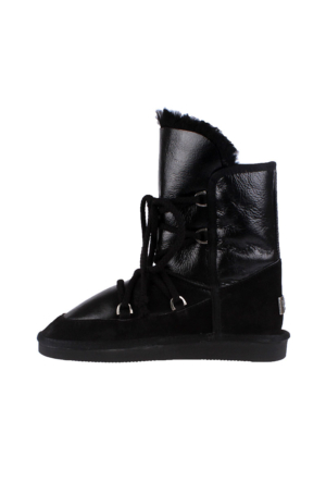 Pegia Black 101060 Kadın Çizme Siyah