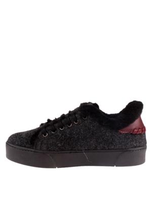 Pegia Grey 659521 Kadın Ayakkabı Gri