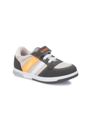 Kinetix Upton Koyu Gri Turuncu Beyaz Erkek Çocuk Sneaker