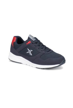 Kinetix Delvin Mesh M Lacivert Kırmızı Gri Erkek Sneaker