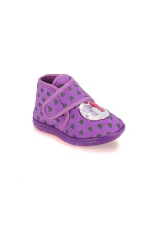 Pink Step A3310322 Mor Kız Çocuk Panduf