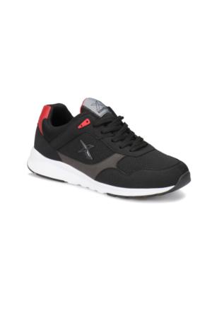 Kinetix Delvin Mesh M Siyah Kırmızı Gri Erkek Sneaker