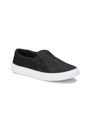 Kinetix Palis Sim Siyah Kadın Ayakkabı