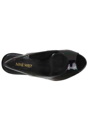 Nine West Kadın Nwvalorıe3 Siyah Suni Deri Ayakkabı