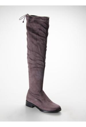 Shumix Günlük Kadın Çizme 1649SHUFW 1649SHUFW.GRIS