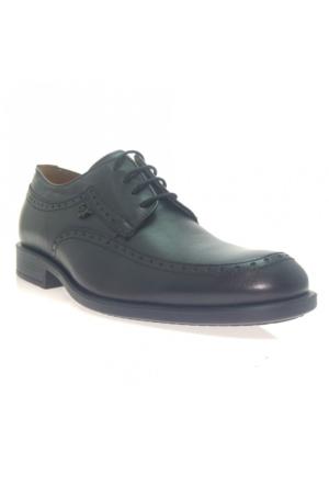 Forex 2587 Anatomic Tabanlı Erkek Deri Ayakkabı Siyah
