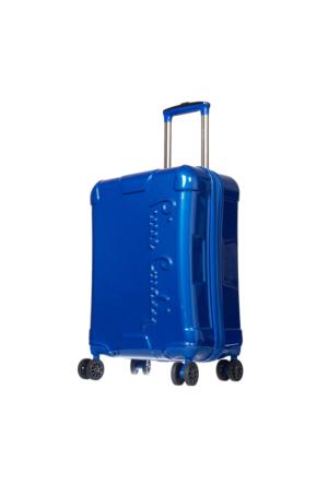 Pierre Cardin PC2600 Kadın Valiz Ve Seyahat Çantası Mavi