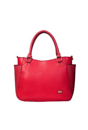Ççs 15120 Kadın Omuz Çantası Kırmızı
