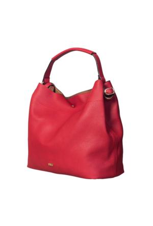 Ççs 15267 Kadın Omuz Çantası Kırmızı