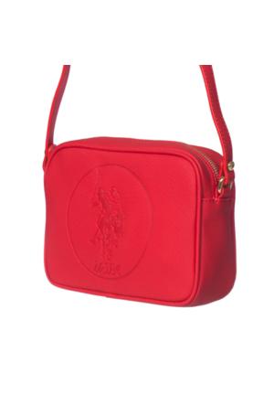 U.S. Polo Assn. US6063 Kadın Çapraz Çanta Kırmızı