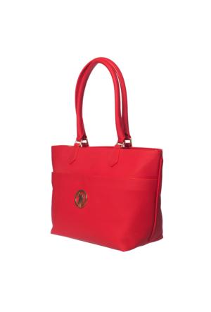 U.S. Polo Assn. US6067 Kadın Omuz Çantası Kırmızı