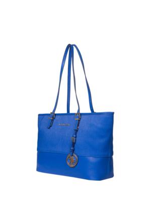 U.S. Polo Assn. US6116 Kadın Omuz Çantası Mavi