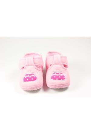Pink Step Daisy-1 Pembe Kız Bebek İlkadım Ayakkabı