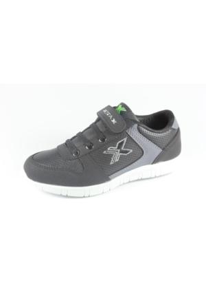Rotax 211-1356 Siyah Gri Çocuk Ayakkabı