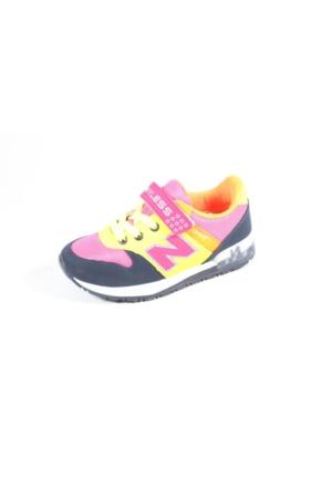 Wyless 259-976 Lacivert Fuşya Çocuk Ayakkabı