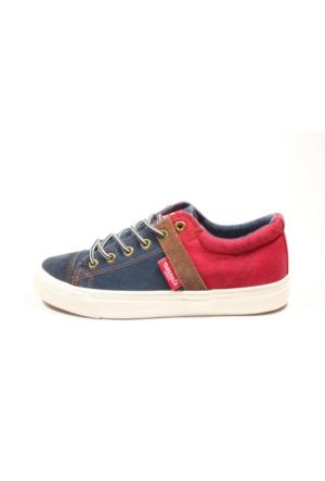Dockers 220635 Lacivert Kırmızı Kadın Ayakkabı