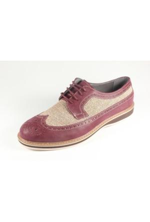 Commodore 267-218 Bordo Erkek Ayakkabı
