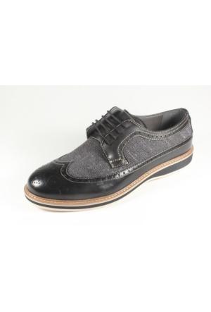Commodore 267-218 Siyah Erkek Ayakkabı