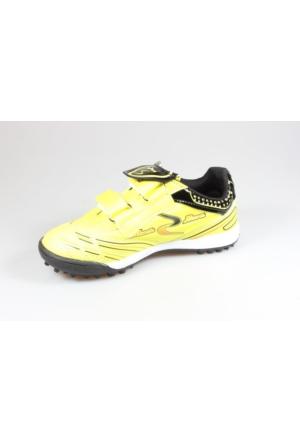 Rotax 231-Halı Saha Futbol Çocuk Ayakkabısı Sarı Siyah