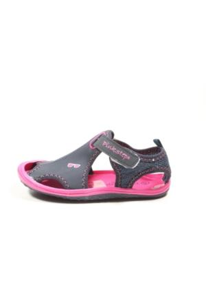 Pink Step Jüpiter Lacivert Fuşya Kız Çocuk Sandalet Kopya