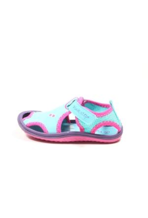 Pink Step Jüpiter A3336157 Mavi Kız Bebek Sandalet