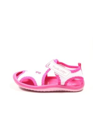Pink Step Jüpiter A3335094 Beyaz Kız Bebek Sandalet