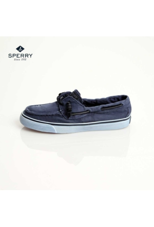 Sperry Sts91304 Sperry Bahama 2-Eye Washed Navy