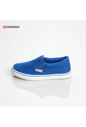 Superga 2311-Cotj X01554 S009nb0 G03 Synthetic Sea Blue Ayakkabı