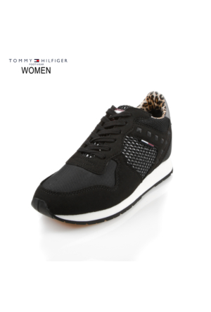 Tommy Hilfiger En56821849-990 Sneakers L1385Ady 1C1 Low Cut Black Ayakkabı