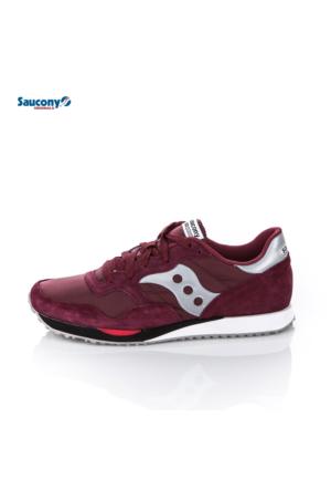 Saucony 70124-4 Dxn Trainer Burgundy Ayakkabı