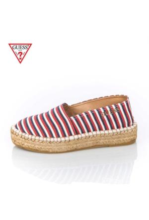 Guess Fl5El2 Fap14 Kadın Ayakkabı Beyaz