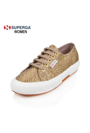 Superga 2750-Rafialamew X01467 S00alm0 905 Canvas Gold-Mu Ayakkabı