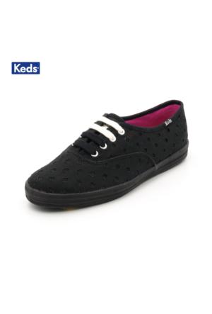 Keds Wf51901 Ch Glitter Dot Black