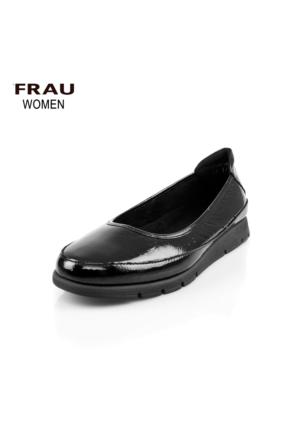 Frau 53V1 Shine Nero Ayakkabı