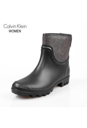 Calvin Klein N12058-Cho Warsaw Rubber/İconogram/Calf Pu Ciw Chocolate Bot