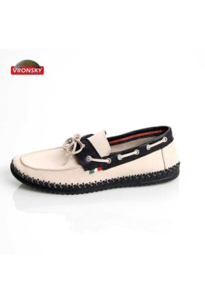 Vronsky Kc Mps0320-112 Kum Nubuk Siyah Ayakkabı