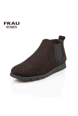 Frau 53F2 Nabuk Brown Ayakkabı