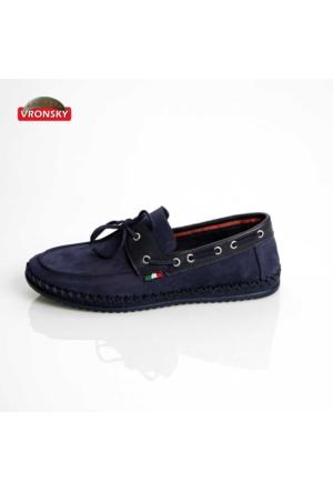 Vronsky Kc Mps0320-112 Lacivert Nubuk Ayakkabı