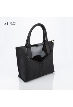 Armani Jeans Çanta B5201u612 Armani Shopping Bag Nero - Black