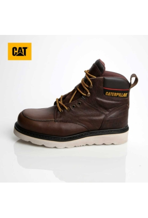 Caterpillar 015M1055 Caterpillar Ako Brown Baskılı Deri