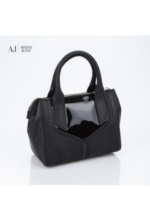 Armani Jeans Çanta B5204u612 Armani Shopping Bag Nero - Black