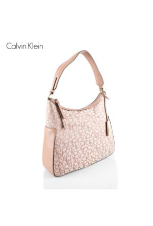 Calvin Klein K60K602247-227 Nin4 Logo Hobo Brownie Çanta
